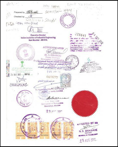 Certificate Attestation for Qatar